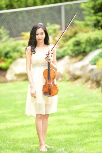 Melody Ye Yuan, violin