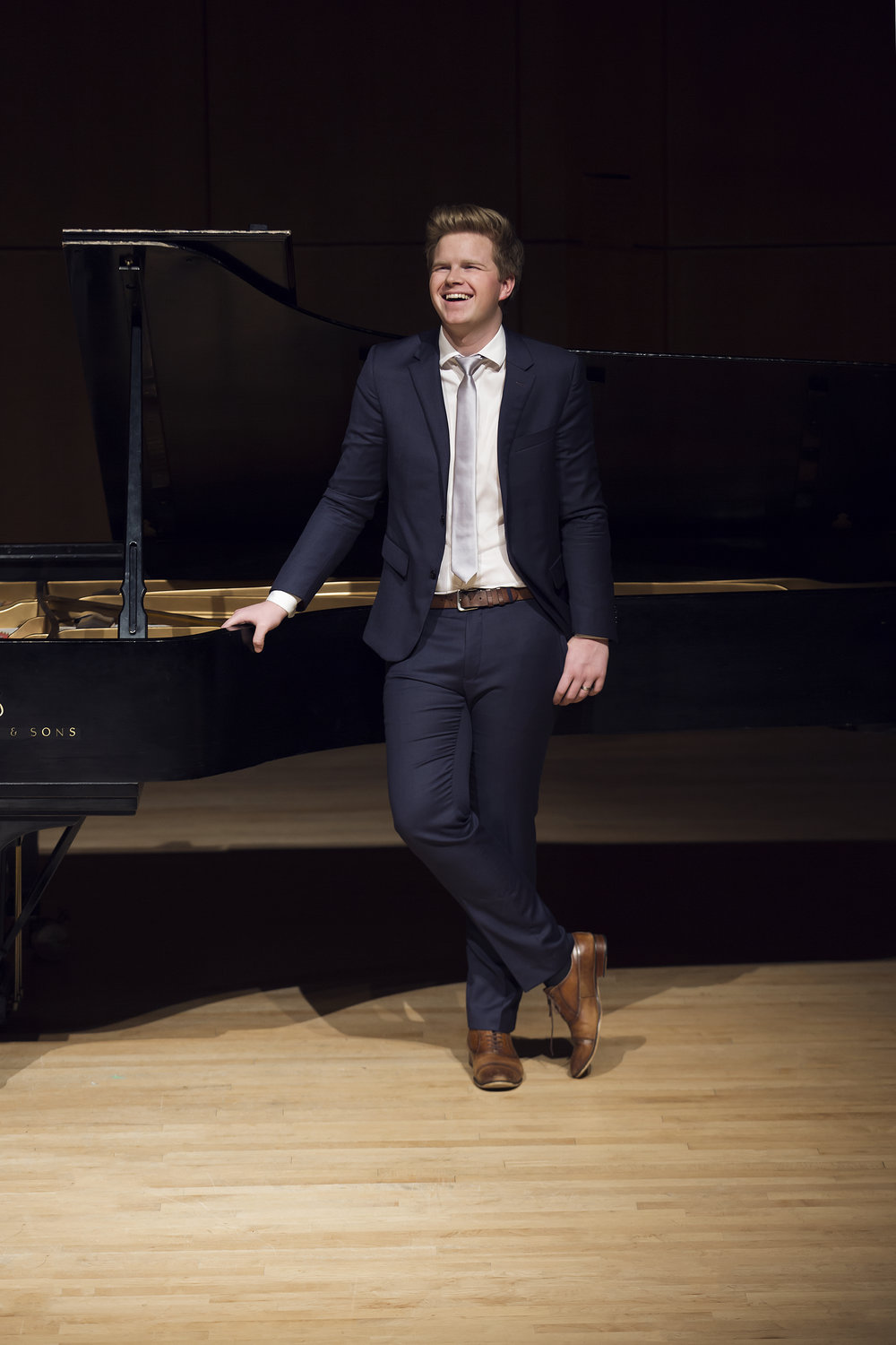 Bach, Prokofiev, Chopin - A musical, emotional journey with our First Place 2018 Bursary Competition winner, and the recipient of the Pat Hoebig Memorial Award.