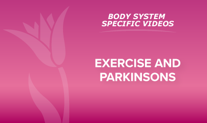 9 - Exercise and Parkinsons