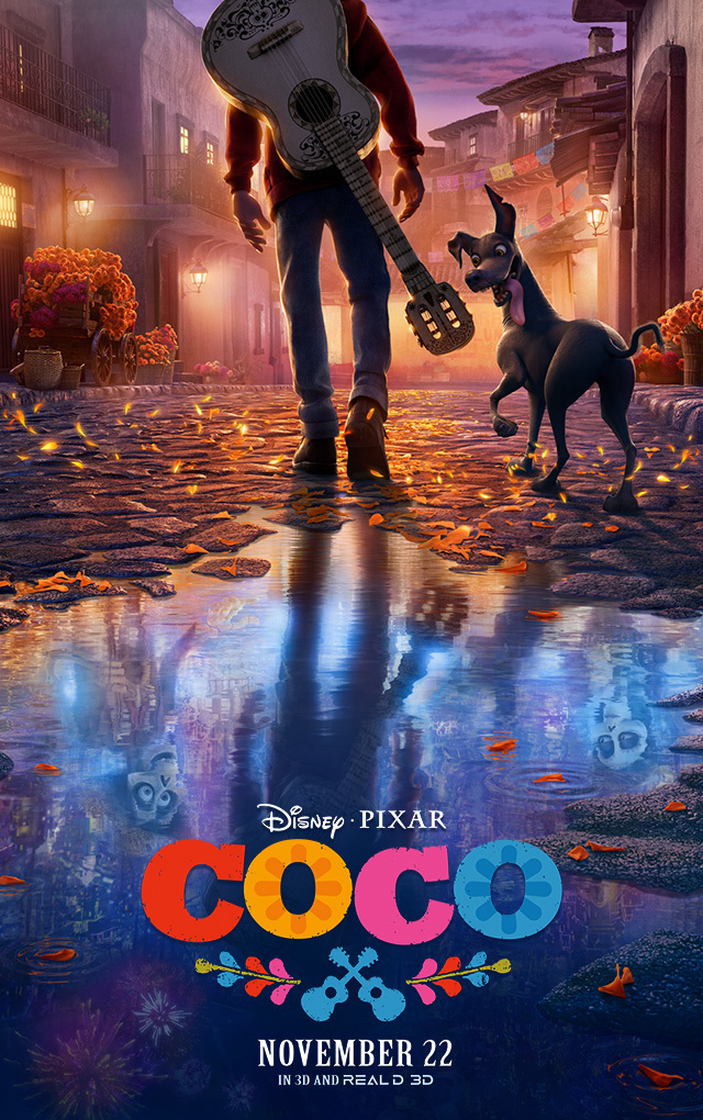 Coco - Took me a long time to finally see this film but I'm really glad I did. And, as with almost every film they produce, Pixar delivers on their motto,