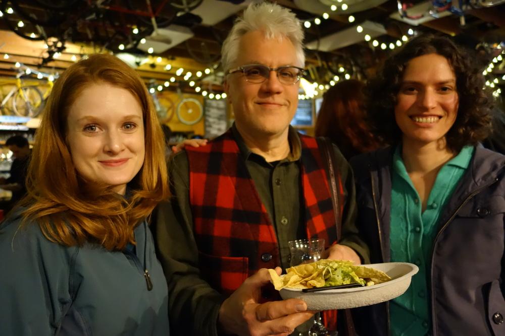 Festival Development Director Kristy Conrad, Film Editor Greg Snider, Filmmaker Ilana Sol