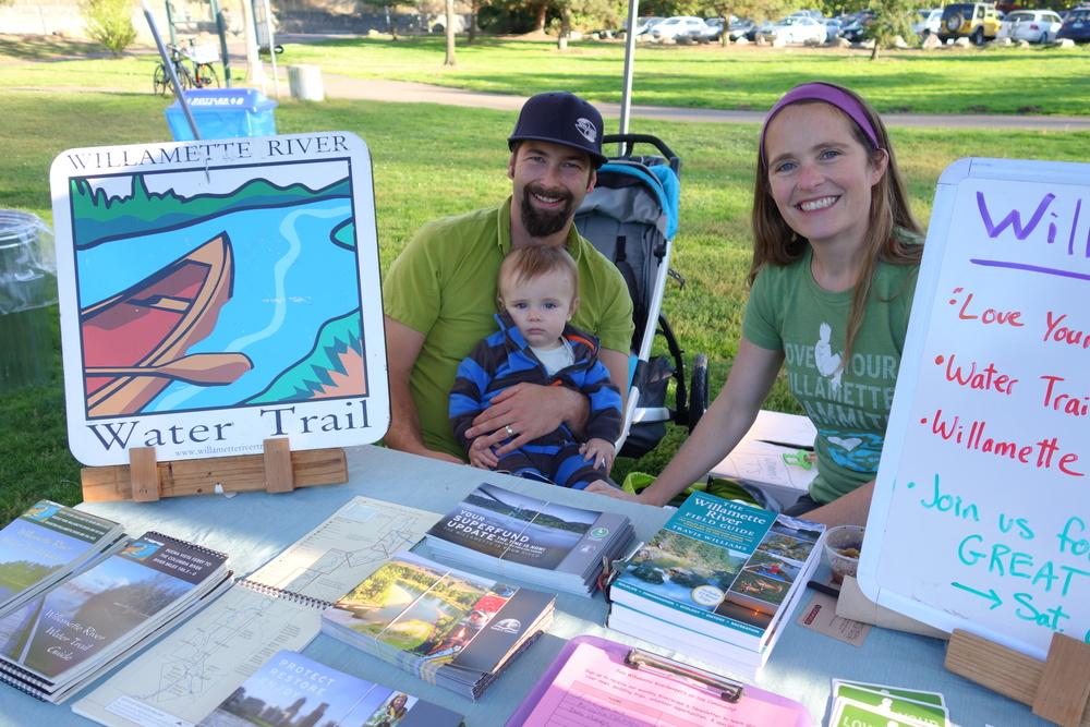 Community partner Willamette Riverkeeper