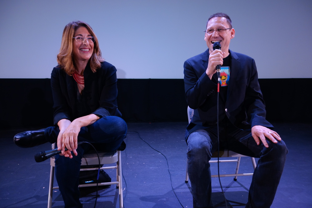 "Author/Producer Naomi Klein and Director Avi Lewis present ""This Changes Everything"""