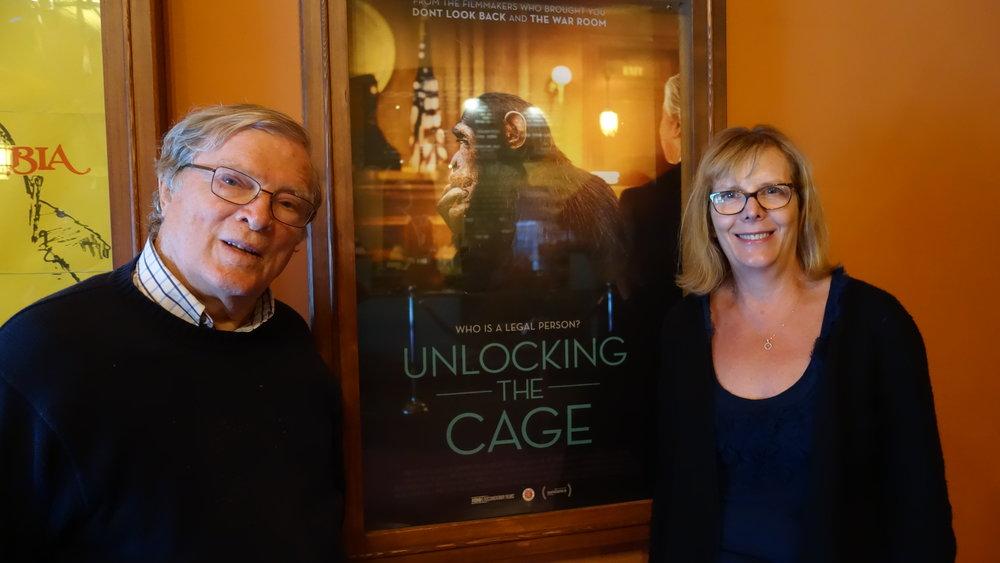 Filmmakers DA Pennebaker and Chris Hegedus
