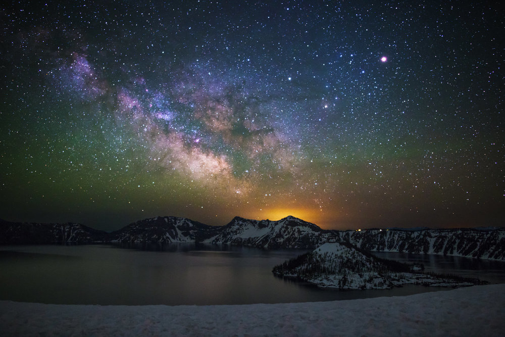 SAVING THE DARK_Milky+Way+over+Crater+Lake.jpg