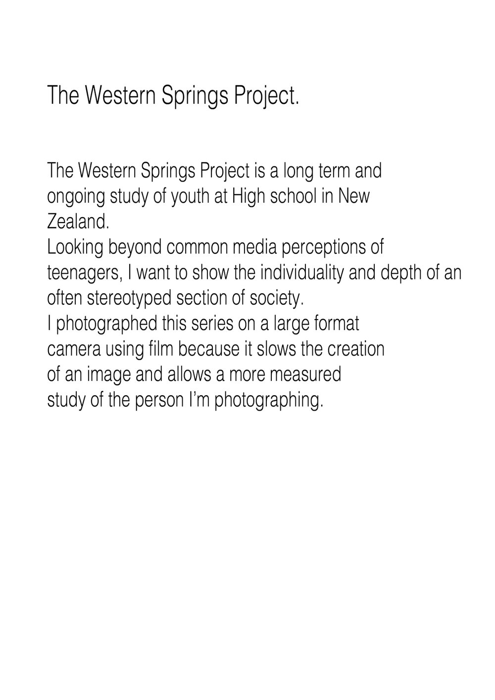 The Western Springs Project.statement.jpg