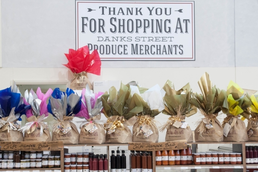 Hampers are available at Waterloo and Mosman stores. Our hampers have a range of non-perishable lines made by us, traditional recipes, our produce it unique to Fourth Village, We have hampers for all occasions and welcome corporate and group buyers.