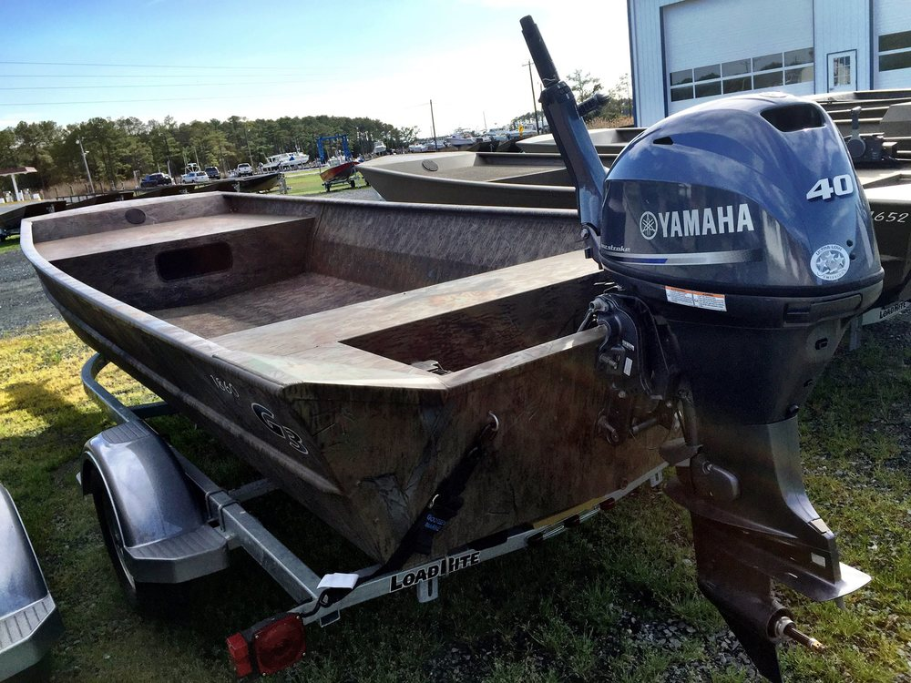 Our new guide boat for the summer season, a G3 1860 with a 4 cycle 40HP Yahama, from Gootee's Marine. If you need a new boat, I would highly recommend Gootee's. This is our 5th boat from Gootee's, you can't beat great service.