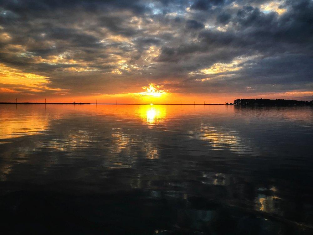 Sunset - Honga River