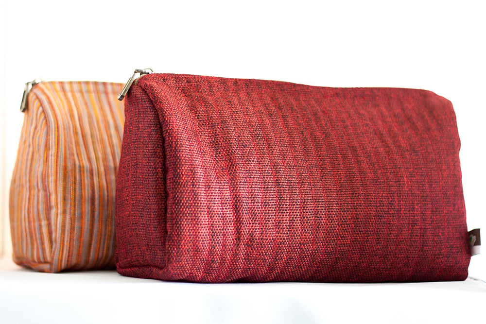 Quilted Travel Cases from Vintage Indian Textiles | Made With a Purpose