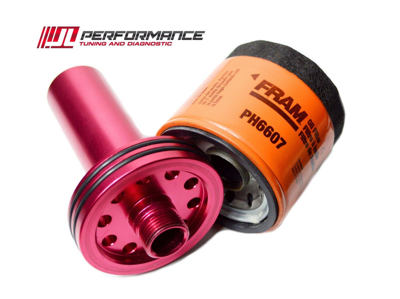 Seadoo Rxpx 300 Jlp Billet Performance Oil Filter Adapter Jl Fram Top Fuel Racing