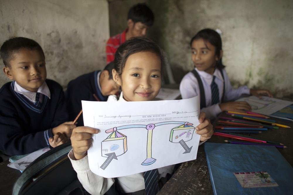 School near Darjeeling, India. For Broadleaf Health and Education Alliance