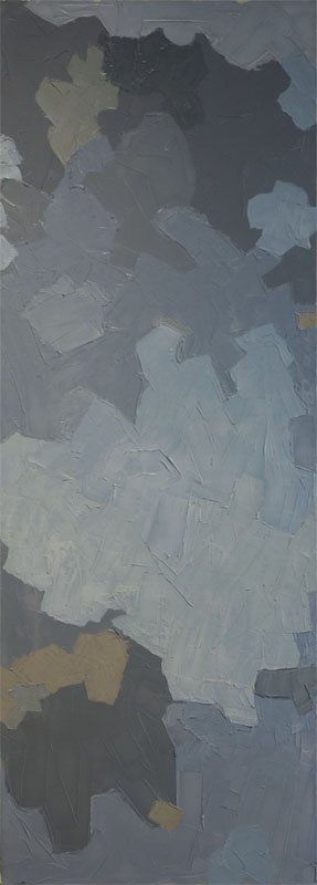 Artimus ,  2007   Oil and wax on canvas 53 in. x 20 in.