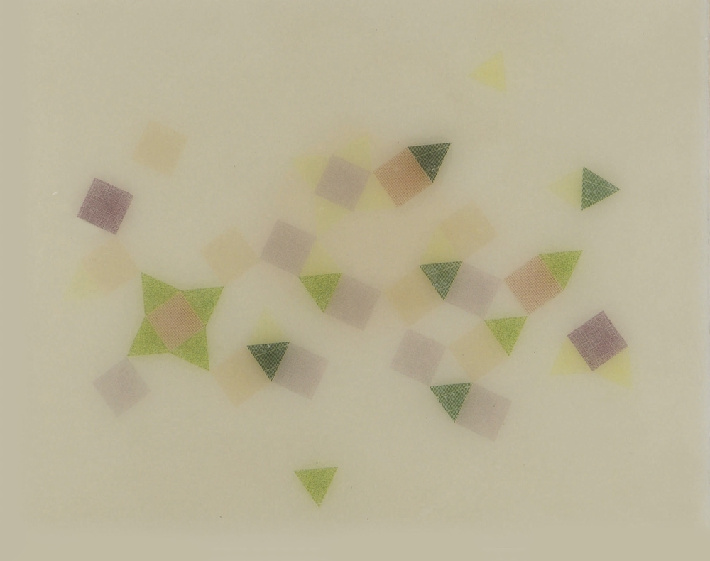 Friendship Star ,  2014  Encaustic 8 in. x 10 in.