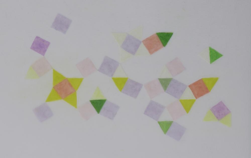 Friendship Star Study   2014 Prismacolor on Dura-lar 3 in. x 5 in.