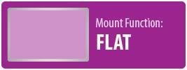 Mount Function: Flat | Flat TV Wall Mount