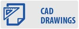 CAD Drawings | MP442 Medium Full Motion Pivot TV Wall Mount