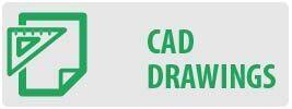 CAD Drawings | MT642 Large Tilt TV Wall Mount