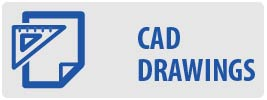 CAD Drawings | MOA64-P Large OLED Full Motion TV Wall Mount