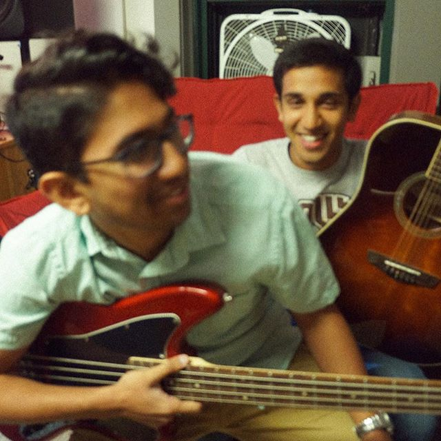 "B-SIDE Tent Show Artist Feature: Chocolate Phish!  Meet CHOCOLATE PHISH !! Chocolate Phish is a group composed of Amit Chakrabarti ('21) and Alex Philips ('21). We got to take some pictures of them at Barbour, where you can usually find them practicing their covers of 90s classics and R&B BOPS. Amit has been a part of the Derbies acapella group since freshman year and Alex learned to play the guitar just last semester!! Come through this Thursday to hear their ANGELIC voices. ""What's the capital of RI"" - Amit Chakrabarti ""Jagariboo"" - Alexander Philips"
