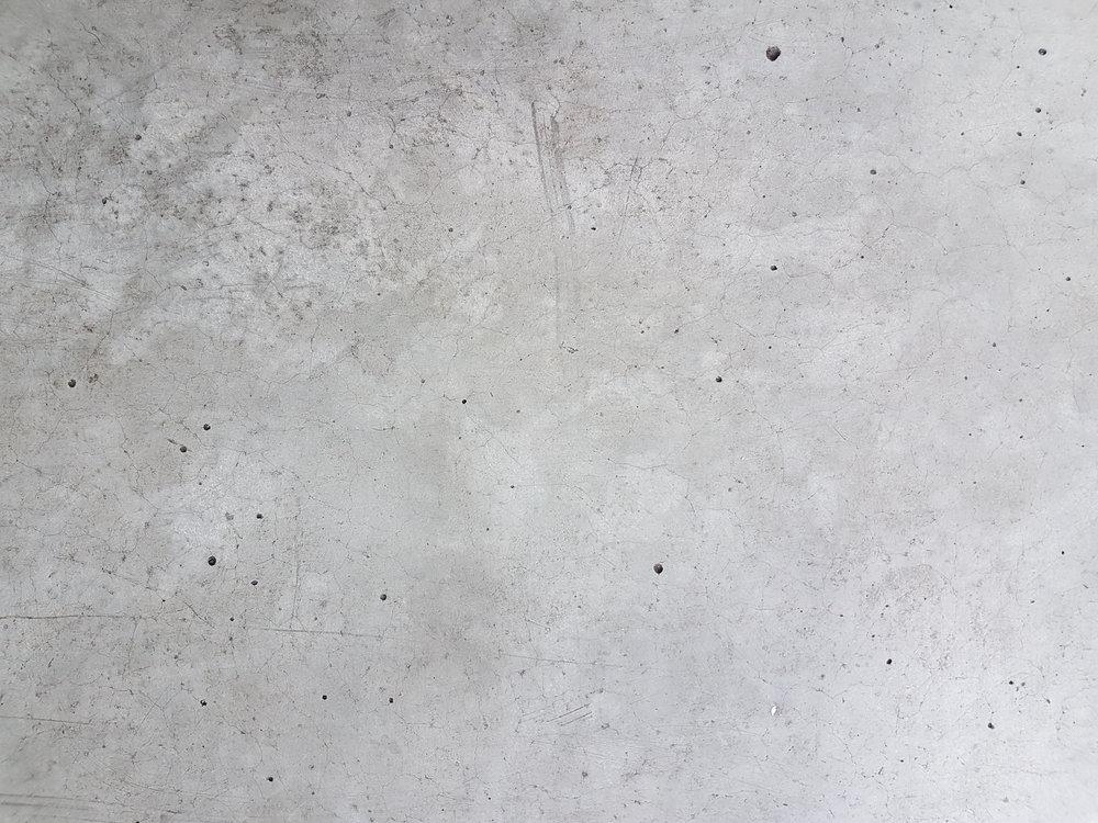 muestra de concreto avejentado