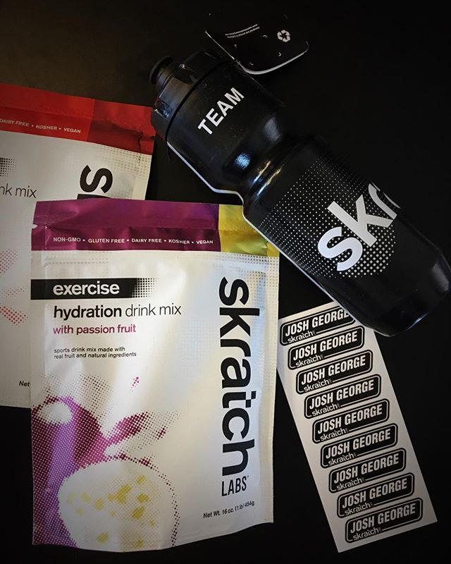 Forget the fact that it tastes great and keeps me hydrated, I'm in it for the #AESTHETIC. #skratchlabs #newflavors #gotthatbrandingdownpat
