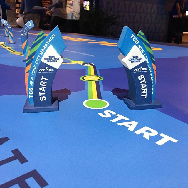 Can you fee l it creeping up? 3 days until the #tcsnycmarathon. Get ready #runners! #maximizeyourpotential