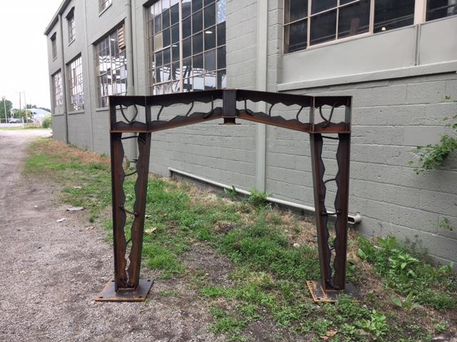 Toledo Memorial Park Bell Frame.JPG