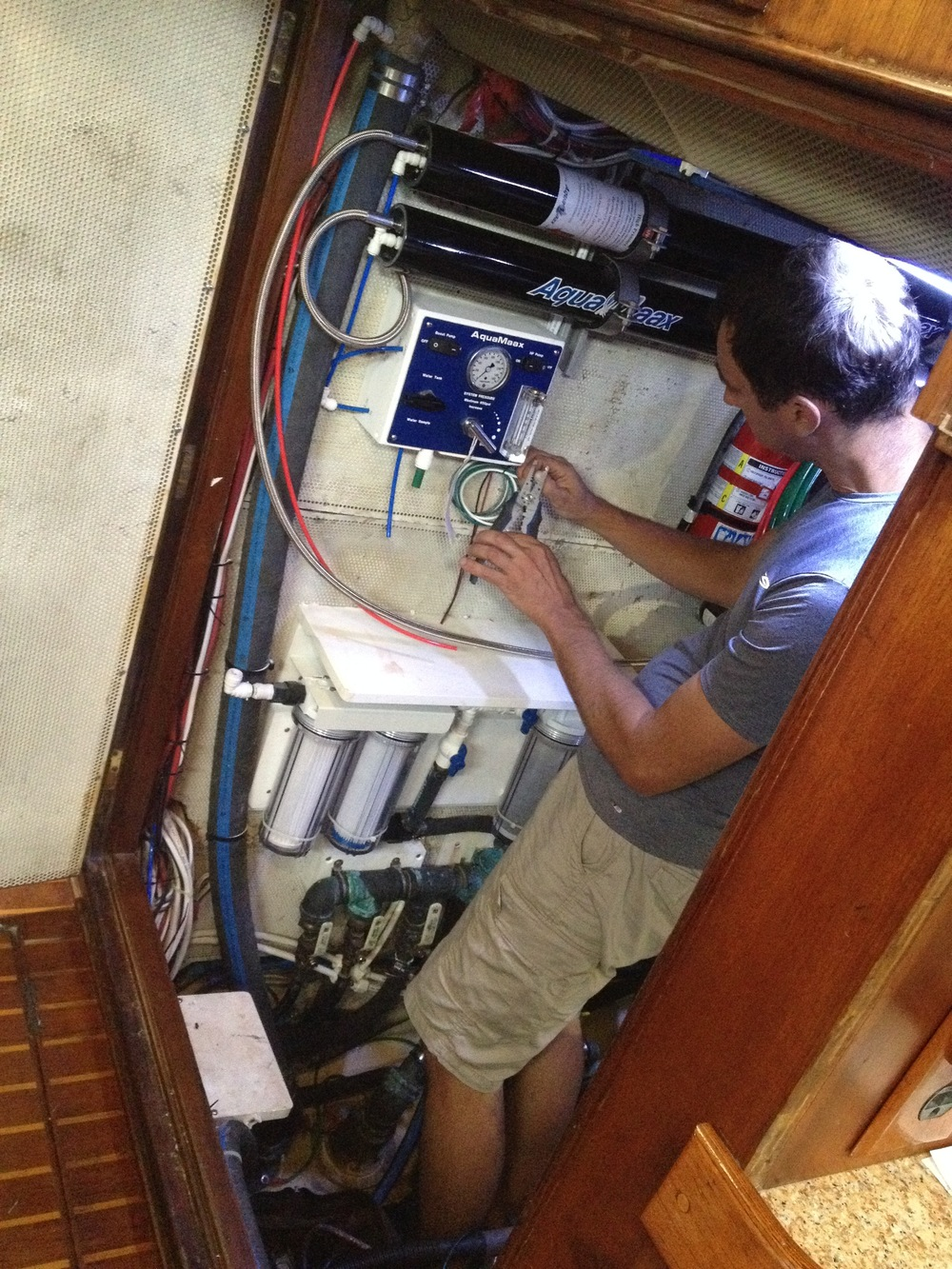 Watermaker installation