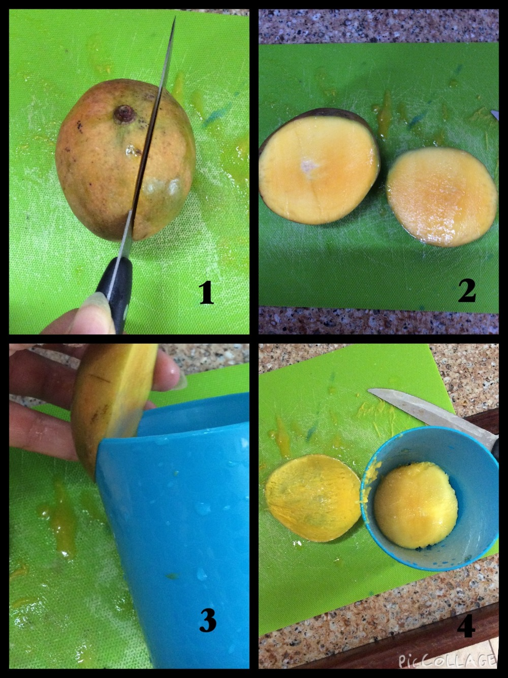How To Get A Mango Out Of Its Skin: