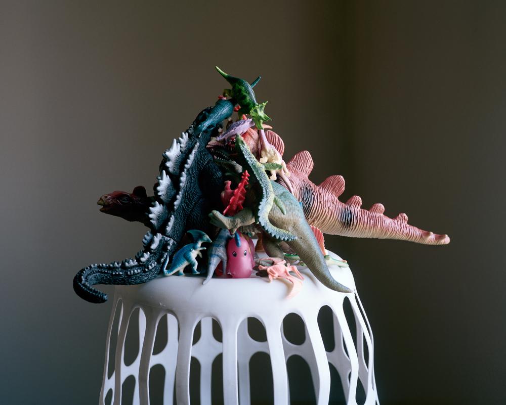 Pyramid Triptych: Dinos , 2012