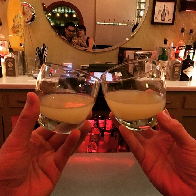 Limoncello at Club Lucky, 2017 #clublucky #clubluckychicago #limoncello #cheers #chicago #chitown