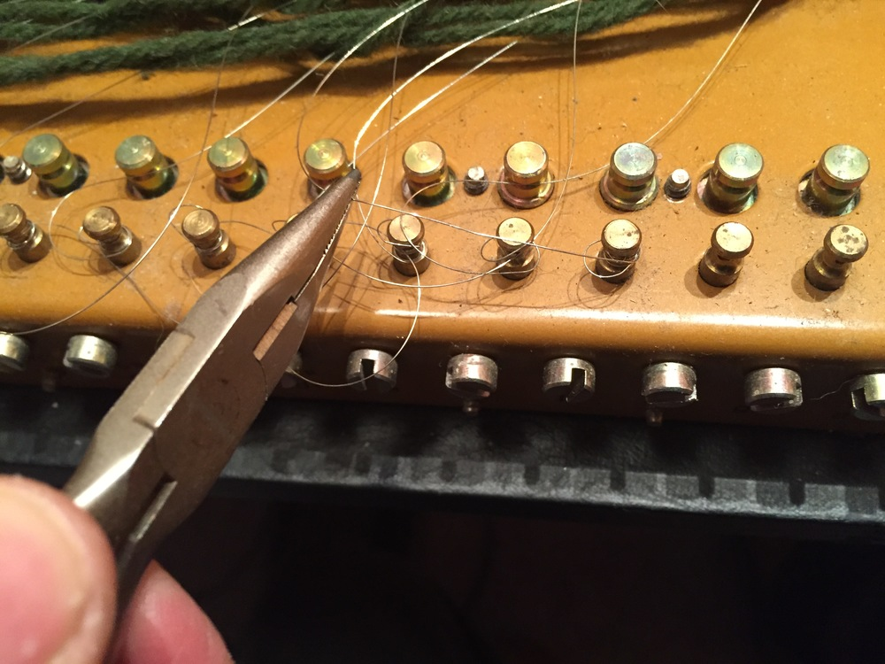 Removing the old strings.