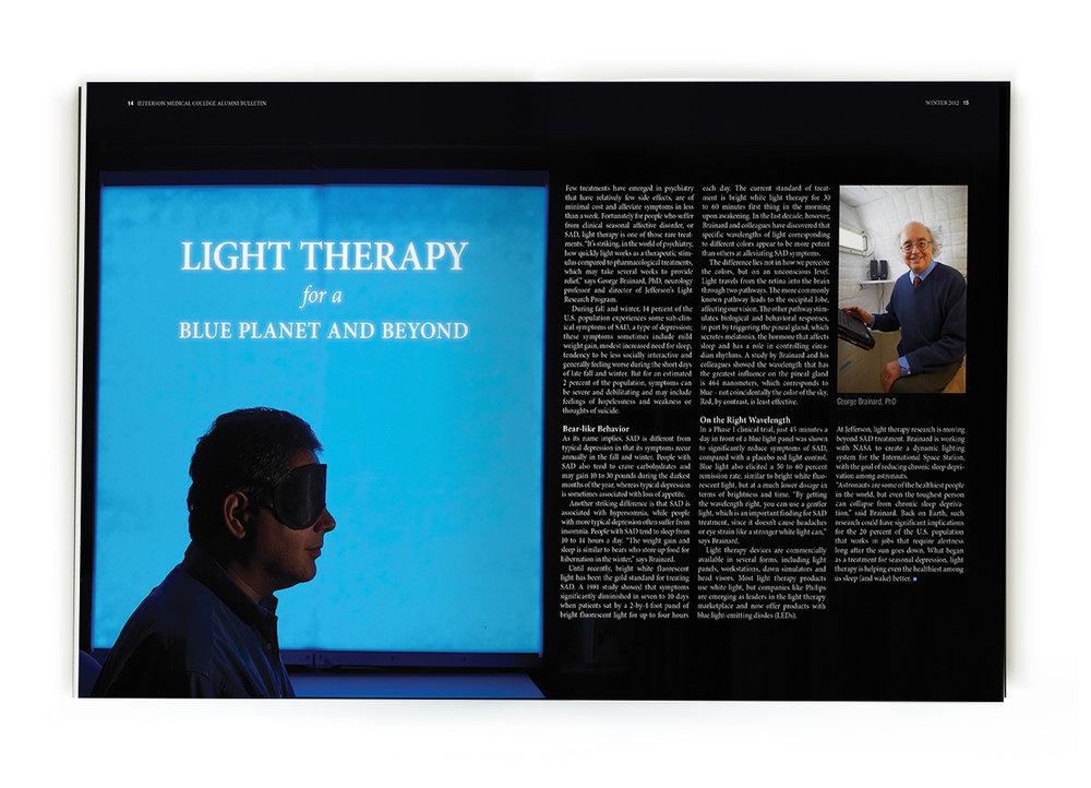 Jefferson Alumni Bulletin Light Therapy.jpg