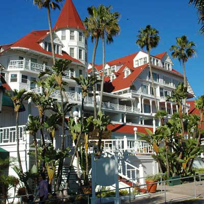 The lovely Hotel Del Coronado