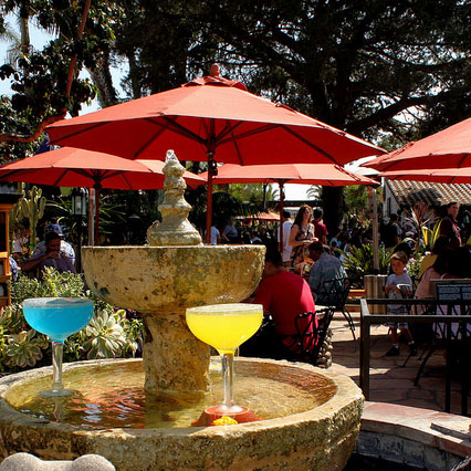 Old Town might be historical but it's the giant margaritas that attract most tourists
