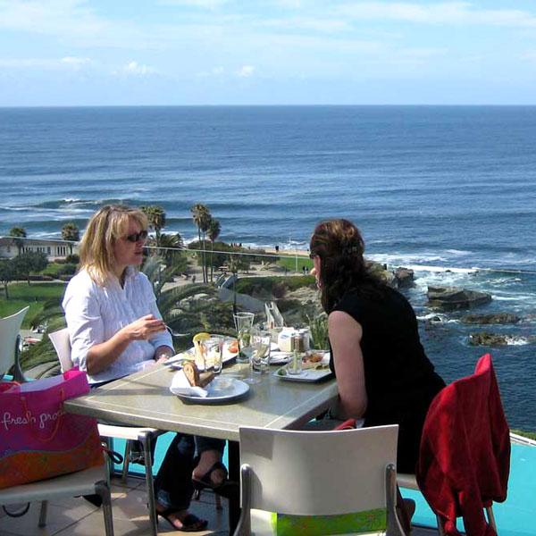 Stunning ocean view at George's Ocean Terrace
