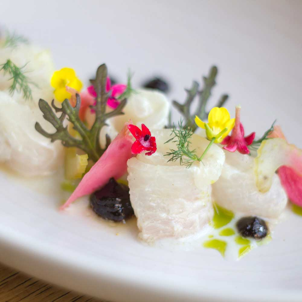 Beautiful food from Top Chef Richard Blais at Juniper + Ivy