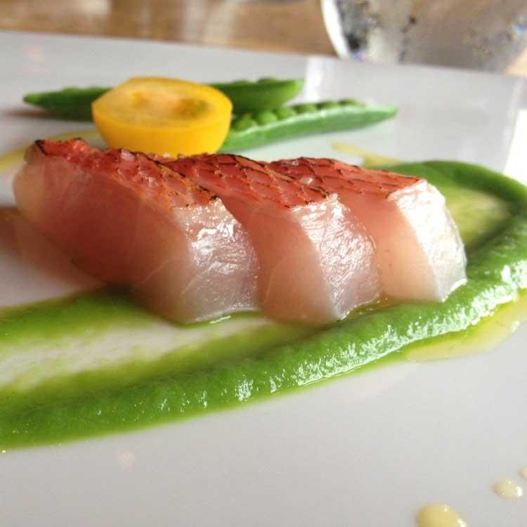 Exotic sushi at Nobu in San Diego's Gaslamp