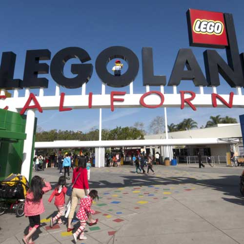 Legoland in Carlsbad is great for the younger kids