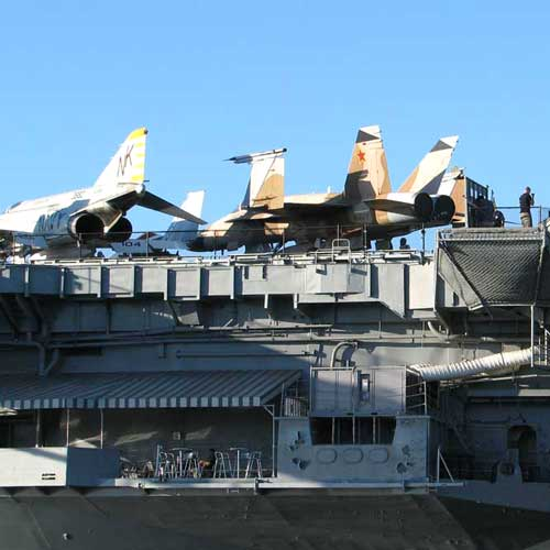 Self guided tours take you on the history of the Midway