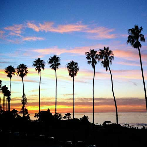 You have to visit La Jolla while in San Diego for a beautiful sunset