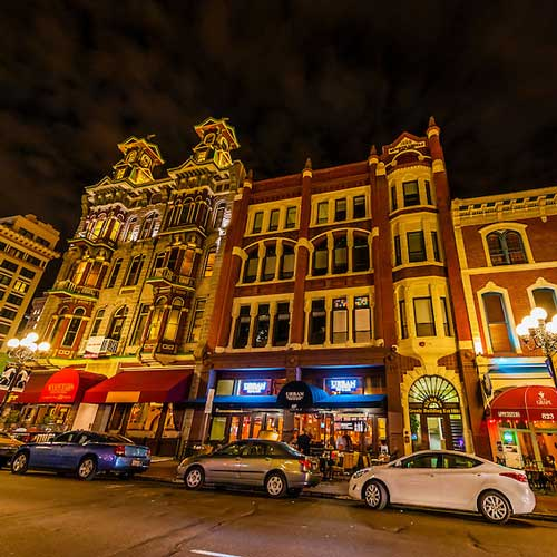 There's more than bars and clubs in Gaslamp District