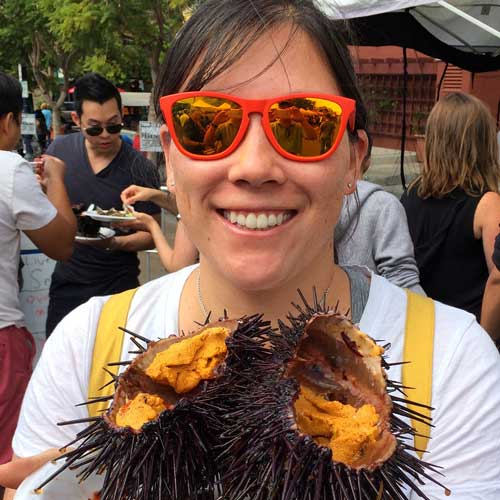 Does your Farmers Market have fresh sea urchin?