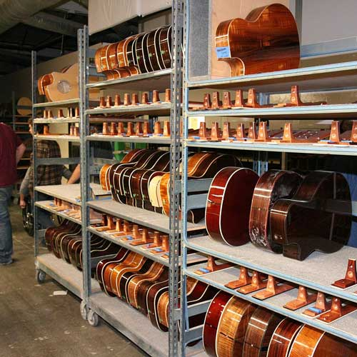 Taylor Guitars are made in El Cajon, just outside San Diego.
