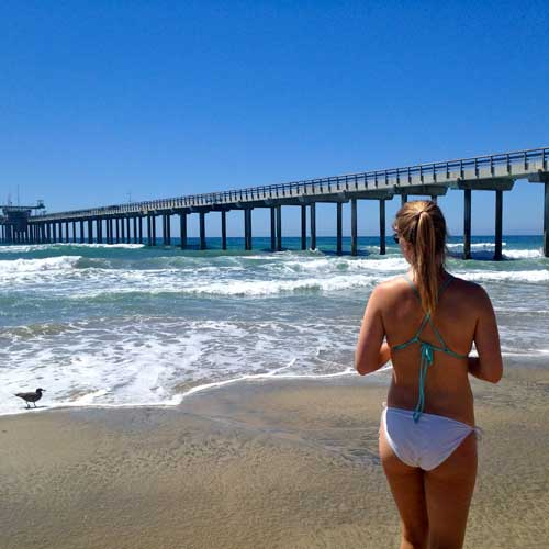 La Jolla Shores is one of San Diego's best beaches