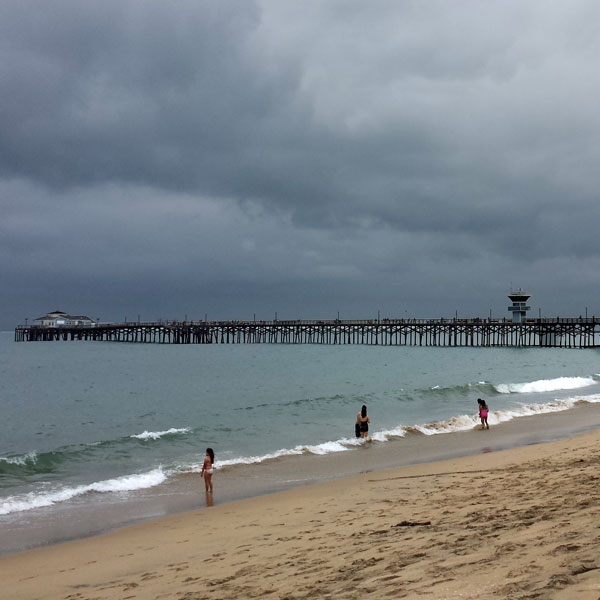 June Gloom strikes again like clockwork in San Diego.