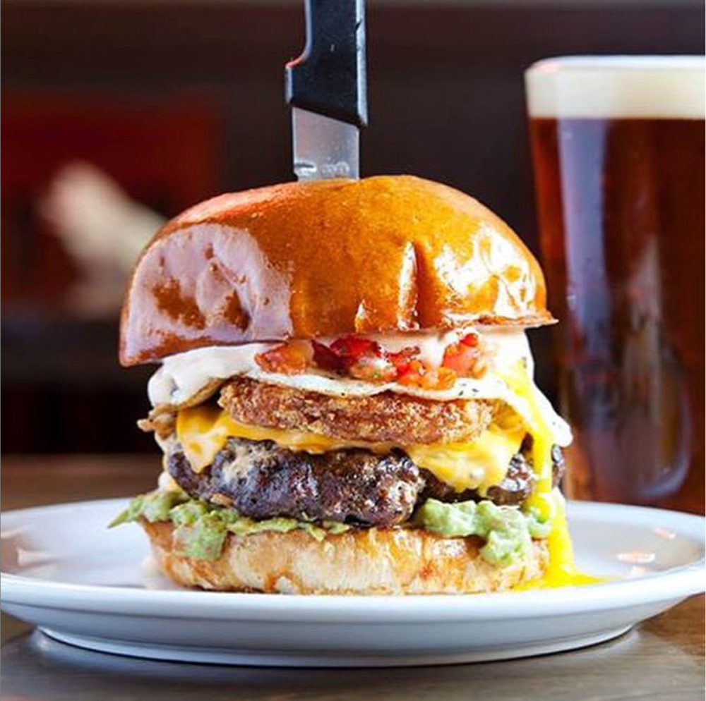 Big, fat and juicy burgers at Slaters 50/50