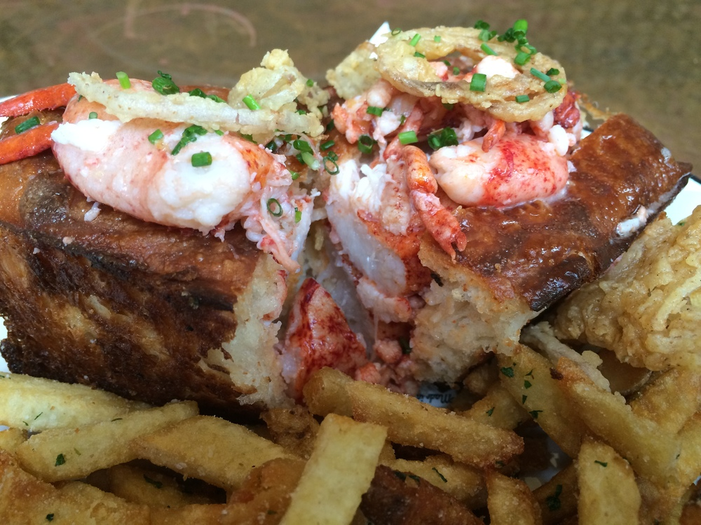 Well heck yeah, lots and lots of succulent lobster meat in the Ironside Lobster Roll.