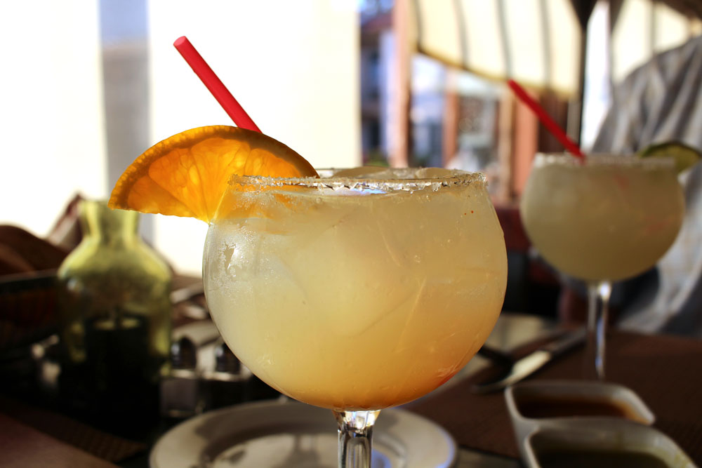 For a few bucks more, upgrade the margarita to a perfect one!
